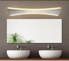 Acrylic Bathroom Mirror Ecobrt 15w Modern Led Wall Lights In Bathroom Mirror Light Lamps