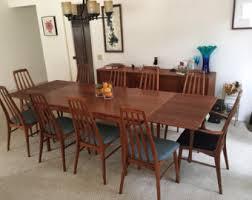 Teak Dining Room Set Johannes Andersen Etsy