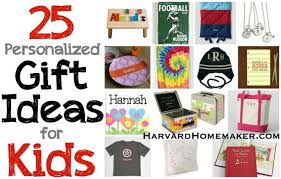 personlized gifts 25 personalized gift ideas for kids harvard homemaker
