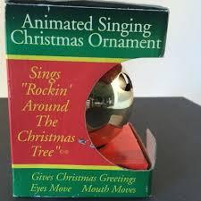 vintage pbc talking animated singing lighted tree