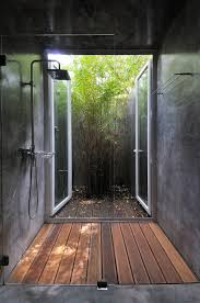 Outdoor Shower Cubicle - 25 cool shower designs that will leave you craving for more