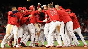 angels rally in 9th defeat rangers in 10th mlb com
