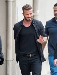 turning 40 need 2015 hairstyles david beckham looks remarkable as he admits he s looking forward