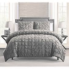 What Size Is King Size Duvet Cover Amazon Com Pinzon Seersucker Duvet Cover Set King Dark Grey
