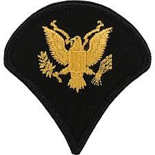 army rank spc large asu sew on large asu rank military shop