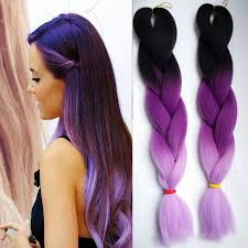 ombre kanekalon braiding hair 10pcs ombre kanekalon braiding hair extension three tone crochet