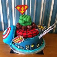 superhero birthday cake the great british bake off