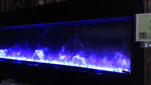 amantii bi 60 slim electric fireplace youtube