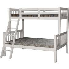 Verona White Twin Full Bunk Bed Kids Beds With Drawers - Twin over full bunk bed canada
