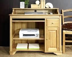 bureau secr aire informatique bureau informatique en pin bureau informatique en pin petit bureau