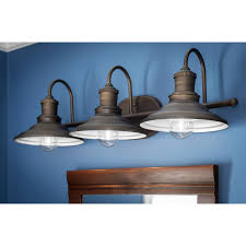 Lamps Plus Westminster Co by Shop Allen Roth 3 Light Hainsbrook Aged Bronze Bathroom Vanity