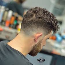 Temp Fade Haircut With Curls 11 Cool Curly Hairstyles For Men Drop Fade Long Fringes And