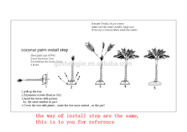 Indoor Trees For The Home by Artificial Trees For Indoors Artificial Coconut Palm Tree For
