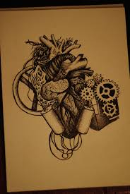 mechanical heart by mew purr on deviantart