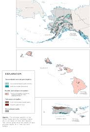 Puerto Rico United States Map by Introduction Nationwide Map Of Principal Aquifers