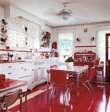 Retro Kitchen Design by Vintage Kitchen Decor Pictures Zamp Co