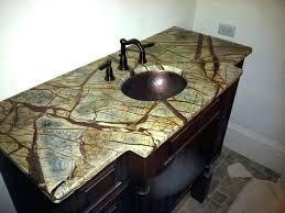 Rustic Bathroom Vanities And Sinks - sinks optional copper sink vessel vanity rustic bathroom tops