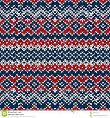 nordic traditional fair isle style seamless knitted pattern stock