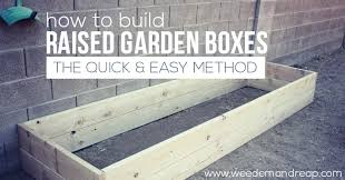 How To Install A Raised Garden Bed - how to build raised garden boxes
