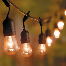 Edison Lights String by Booth Crush Edison Bulb String Lights