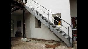 stahl treppe stahltreppe verzinkt