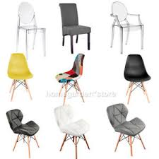 dining chair living chairs lounge wooden legs ghost clear arm