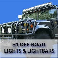 off road light bars hummer h1 light bars and lighting accessories