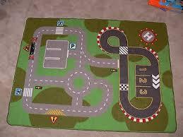 ikea lillabo kids road city car truck toy floor mat play rug 39 x