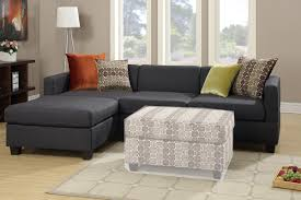 Microfiber Sofa With Chaise Lounge by Sofas Center Homelegance Phelps Contemporary Microfiber