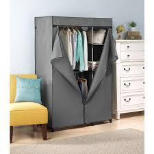 whitmor double rod freestanding closet cover walmart com