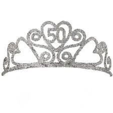 50th birthday favors 50th birthday decorations sashes tiaras crowns gifts