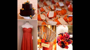 october wedding ideas fall wedding decorations ideas on a budget