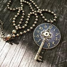 vintage key necklace images Skeleton key necklace 1 jpg