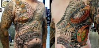 mechanic tattoos 10 expert biomechanical tattoo artists scene360