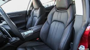 ghibli maserati blue 2017 maserati ghibli sq4 sport package interior front seats