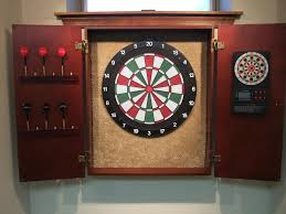 Dart Board Cabinet Plans Cool Board Engaging Soft Tip Dart Board Bullseye Height