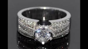 wide band engagement rings best wide band diamond wedding and engagement rings