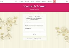 wedding invitation websites best websites for wedding guests to rsvp