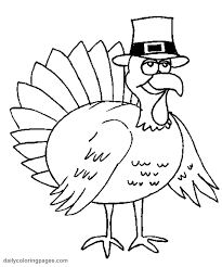 thanksgiving turkey coloring pages getcoloringpages