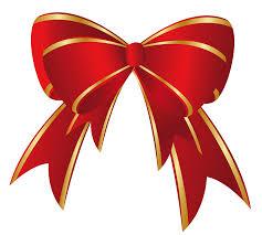 christmas ribbons and bows christmas bows clipart 55