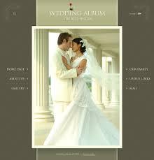 best wedding album website website template 17559 wedding album page custom website template