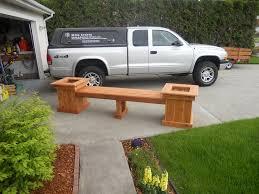planter boxes w bench seat big dog home and business spokane