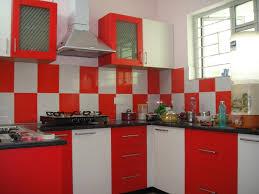 Modern White And Red Kitchen Designs Kitchenred Black White Kitchen Decor Kitchen Decor Design Ideas