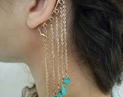 ear cuffs india bohemian ear cuff etsy