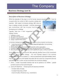 business assessment report template assessment strategy template