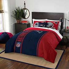 Sports Themed Duvet Covers Nfl New England Patriots Bedding Bed Bath U0026 Beyond