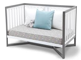 How To Convert Crib To Daybed Tribeca 4 In 1 Crib White Grey Baby Safety Zone Powered By Jpma