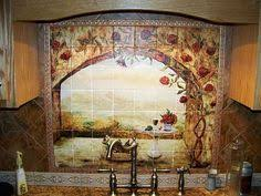 make your own tile mural cheap something to think about if