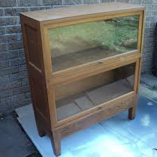 barrister lawyers bookcase with glass doors vintage lawyers bookcase