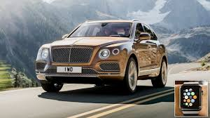 bentley bentayga 2016 interior the mighty bentley bentayga can now be controlled with the apple